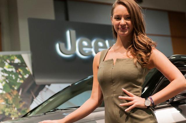 Jeep Compass at the Washington Auto Show