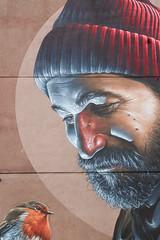 Glasgow Grafitti - less Photoshop