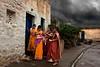 Storm. Badami. Karnataka. India