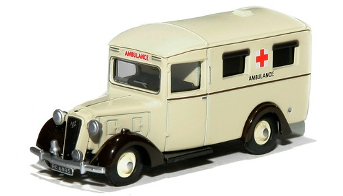10 Oxford Austin ambulance