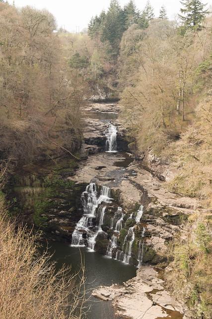 Corra Linn Falls