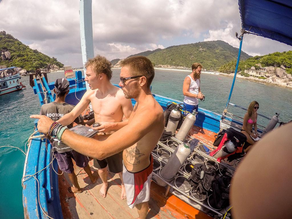 Roctopus Dive Koh Tao, Scuba Diving, Learn to Dive, PADI, SSI, RAID