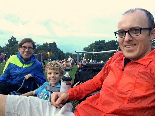 At City Park for the fireworks