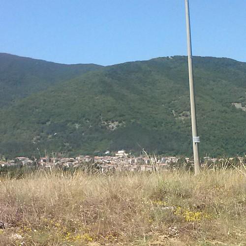#paesaggio #collelongo #viaggio verso #vallediamplero