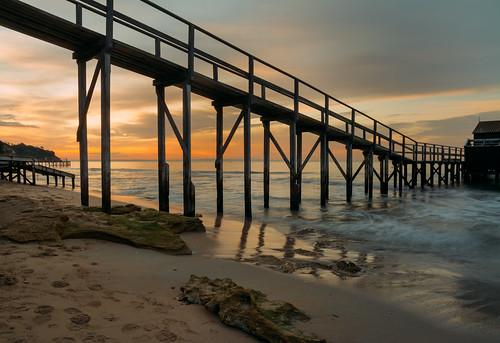 sunset seascape victoria portsea vsco