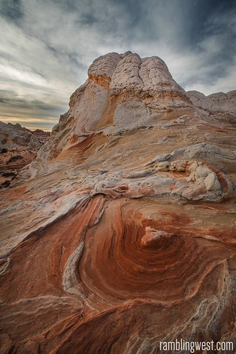 Swirling rock...