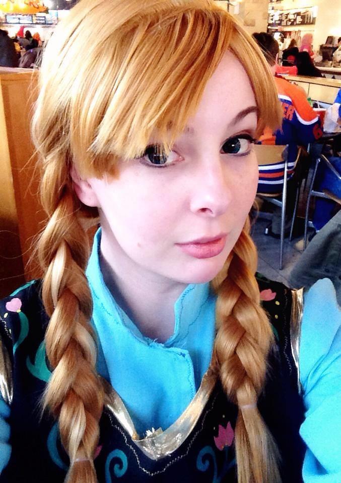 Blond ginger