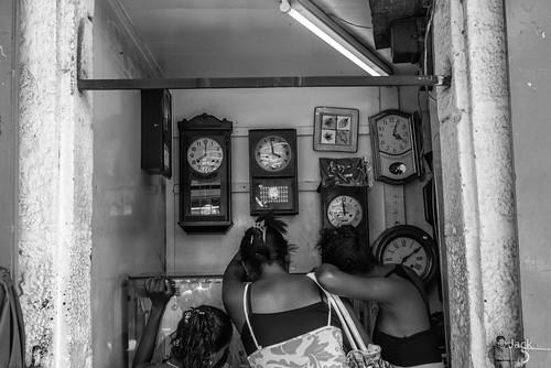 chez l'horloger
