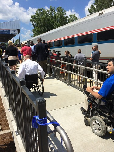 #ADA25 Amtrak New Accessible Technology #a11y