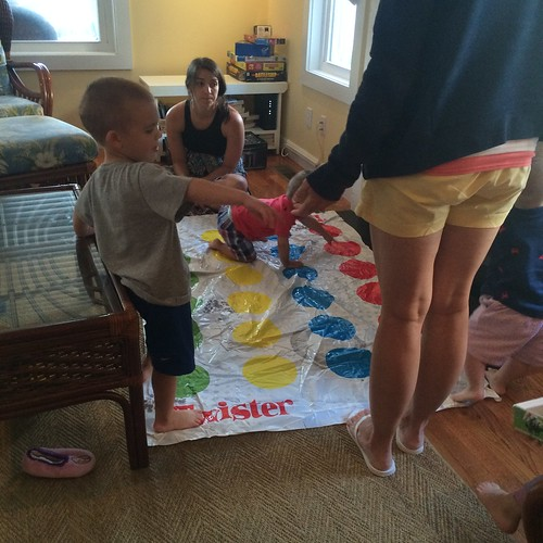 Twister before dinner
