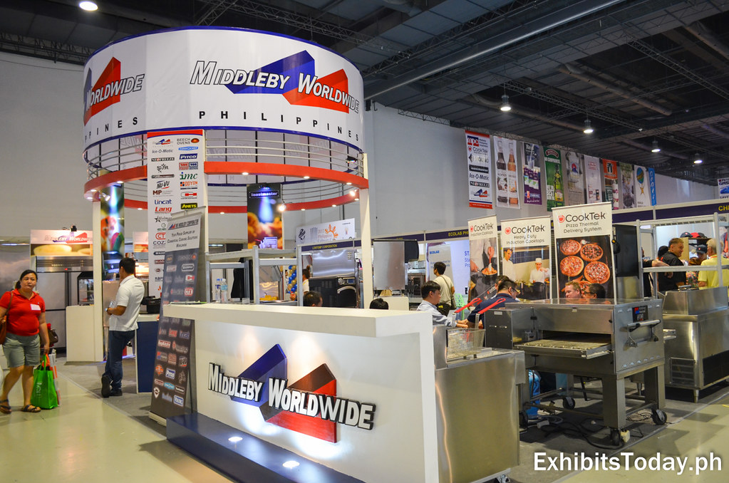 Middleby Worldwide Trade Show Stand