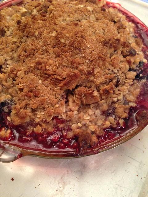 Pie! Mixed berry