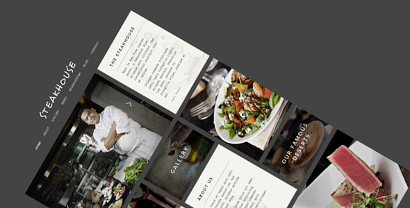 Steakhouse v3.1.0 - Responsive Retina WP Restaurant