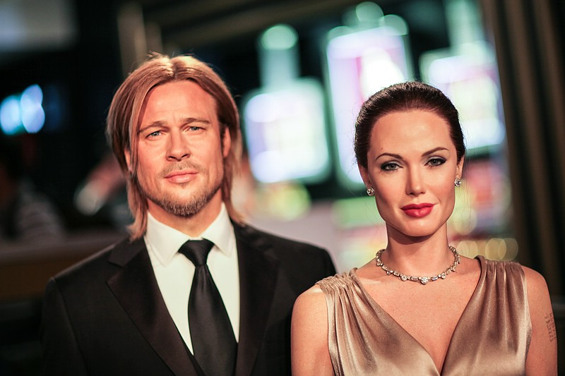 Brangelina Wax Figures