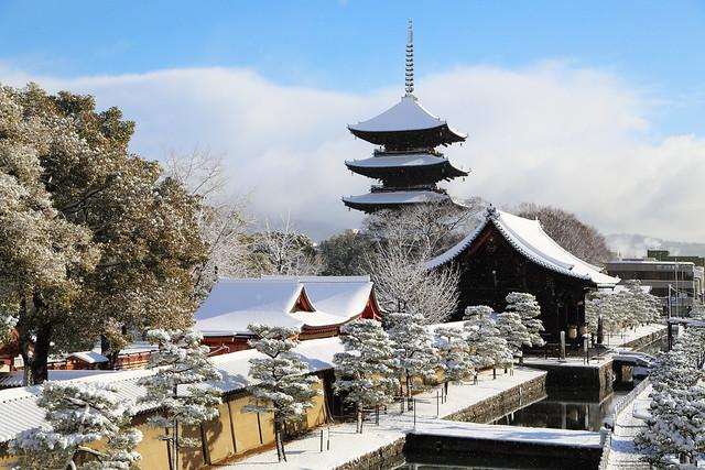Winter morning in Kyoto
