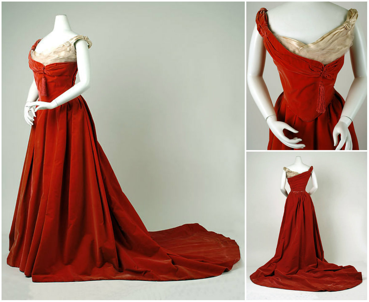 1900. Ball Gown. Silk. metmuseum