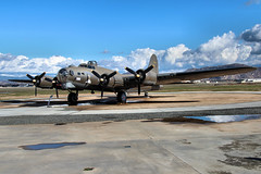 B-17 Flying Fortress at March Field Air Museum, Riverside