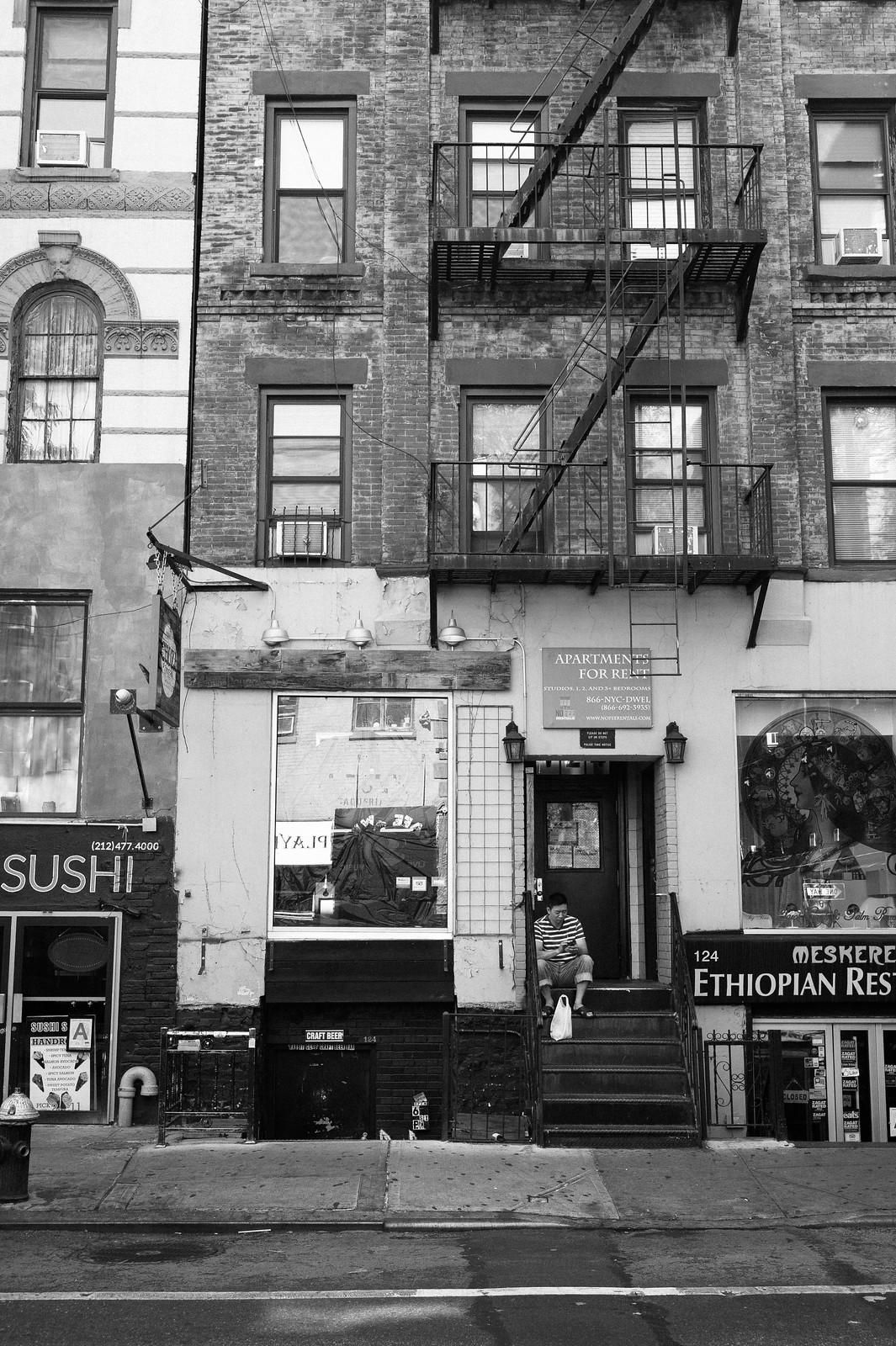 "Image titled ""Fire Escapes #14, NYC."""