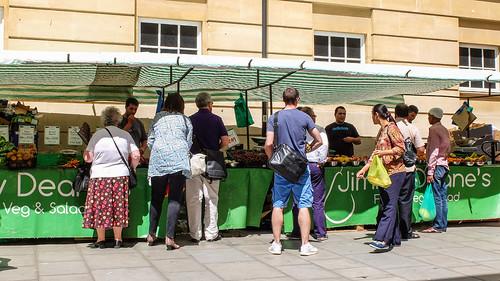 Vegetable and Salad Market, Southgate, Bath