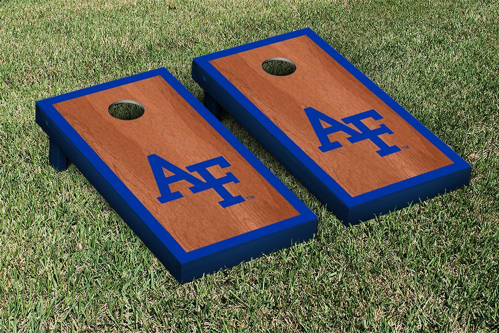 Air Force Academy Falcons Rosewood Stained Border Version