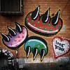 Love drunk @clawmoney #StreetArt #graffiti #clawmoney #LES #LowerEastSide #Manhattan #NYC