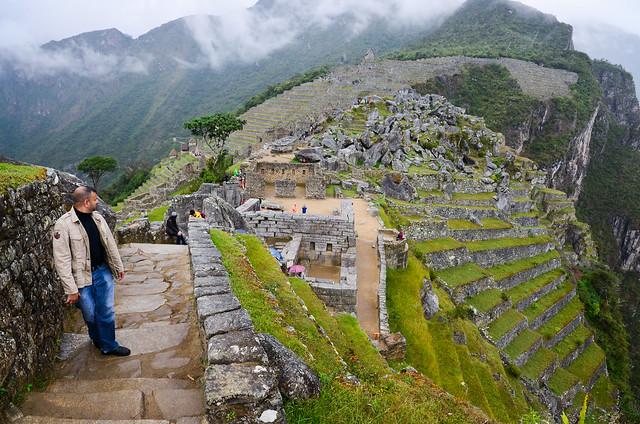 Escaleras de Machu Picchu