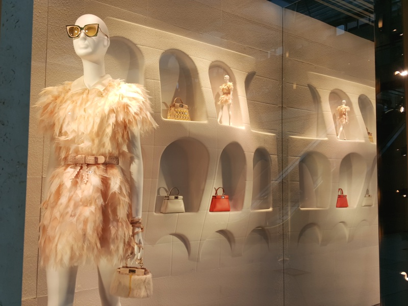 Fendi window