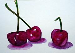 Three cherries, by Mara - DSC00331