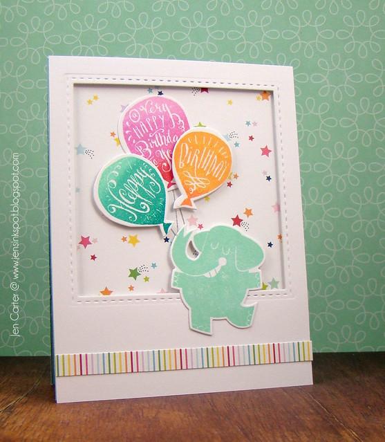 Jen Carter LID Elephant Birthday Party