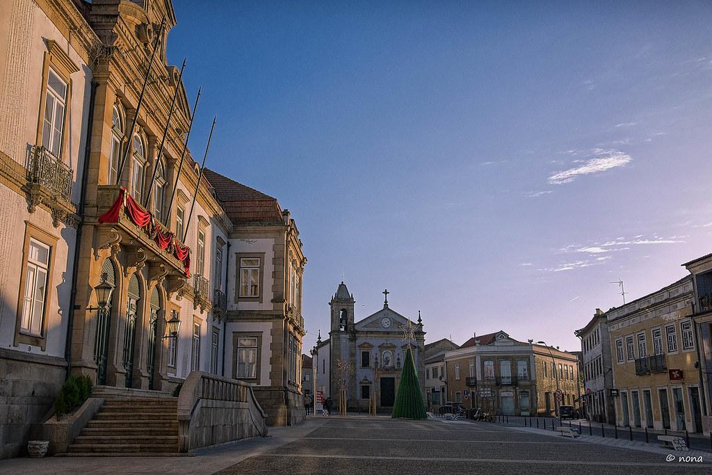 05.- Ovar - Capela de Santo António e Edifício da Câmara Municipal