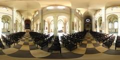 Braunschweig Church Aisle