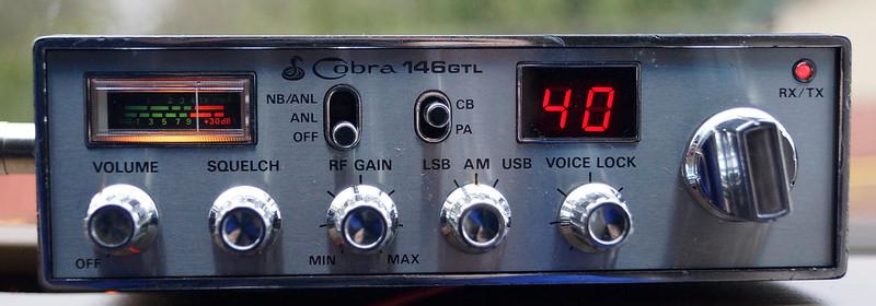 RD15026 Vintage Cobra 146 GTL AM SSB CB Radio DSC07765