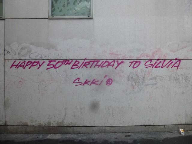 SKKI (c) : Happy 50th birthday to Silvia
