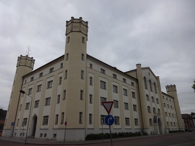 1858/60 Bernburg Karlskaserne im Neotudorstil Karlsplatz 37 in 06406 Bergstadt