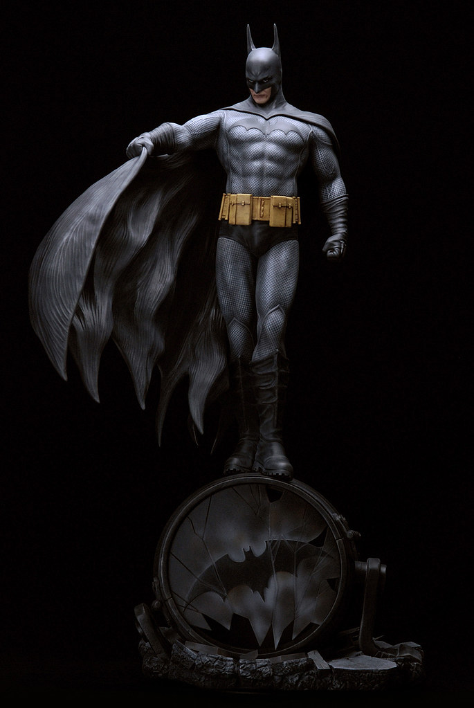 Yamato USA – DC Comics 系列【蝙蝠俠】Batman 1/6 比例全身雕像作品