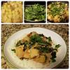 Kale / Pineapple / Peanut butter stew