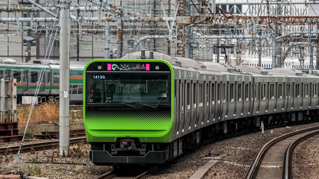 JR East E235 Series @ Tokyo Station, Yamanote Line