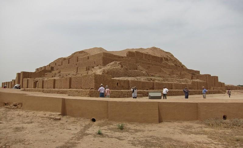 Choga Zanbil Ziggurat, Elamite, 1250 BC