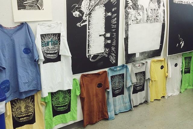 woodcut shirts