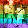 Putting the fb pride filter here for posterity on our 2nd anniversary. #SCOTUS. The wedding gift that keeps on giving!