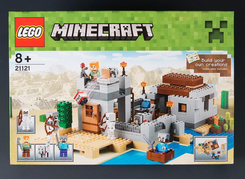 Review - 21121 LEGO Minecraft:Desert Outpost από EUROBRICKS 19111534264_ae79bf27b1_c