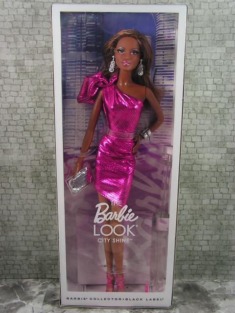 2014 The Barbie Look City Shine CJF52