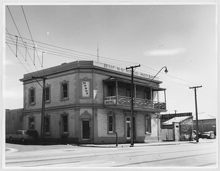 Buck's Head Hotel, North Terrace, Adelaide, 1965