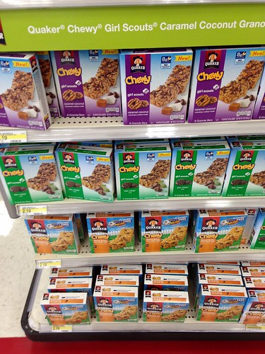 Girl Scout Granola Bars