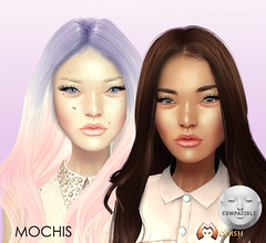 Mochis skins for Lelutka heads