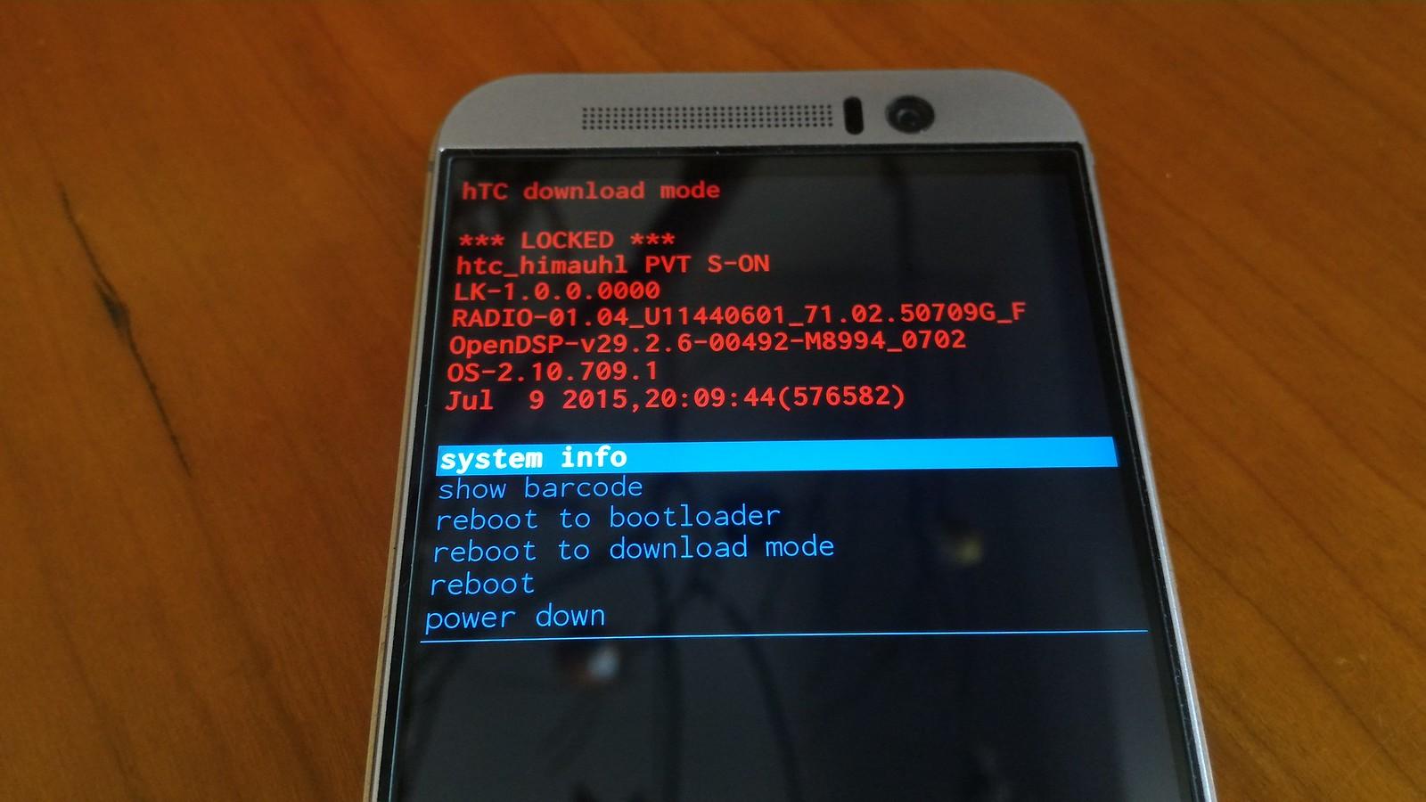 開機鍵與音量鍵的另一種用途-工程模式(bootloader、recovery) - HTC論壇