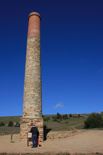 Chimney at Burra Copper Mine