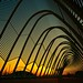 Sunset at Athens Olympic Complex by Panos Kanderes