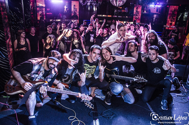 A BLACKENED SIGHT + DEATHSURRECTION + [IN  MUTE] - Madrid- 03/07/15