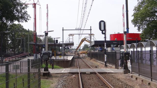Station Harderwijk, 1 augustus 2015 werkzaamheden